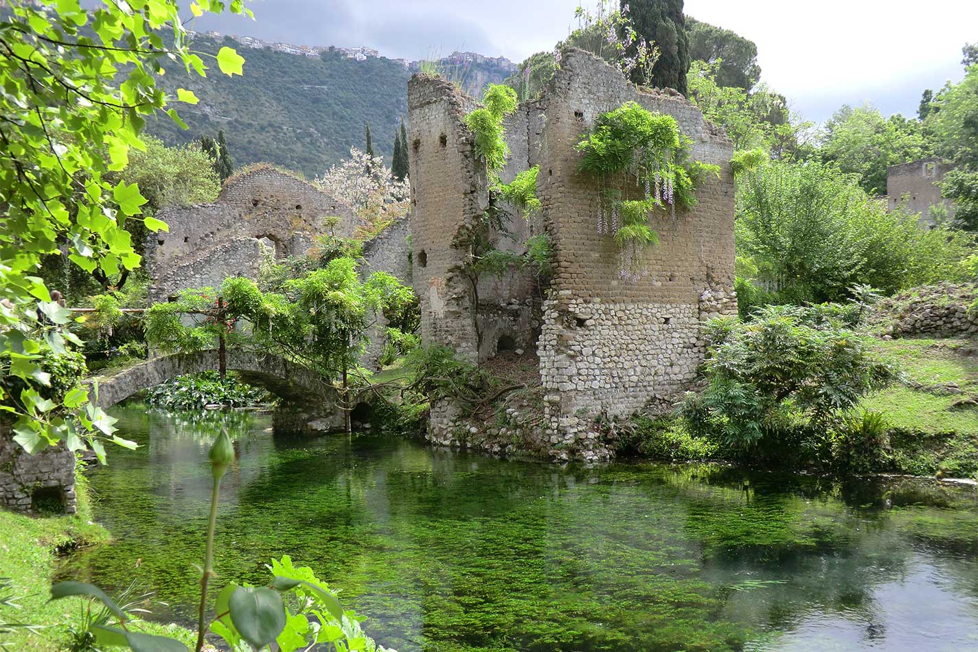 The Gardens of Ninfa Italian Gardens near Rome – Heritage ...