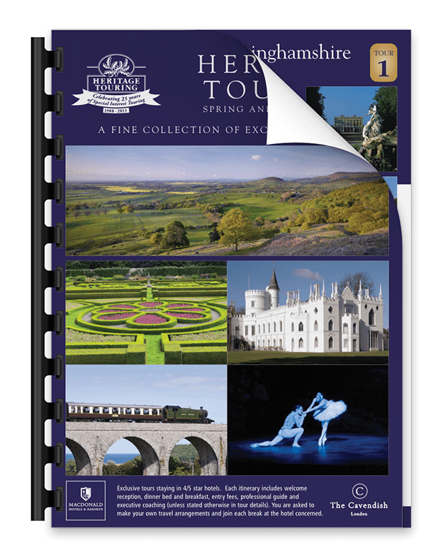 Heritage Touring Brochure 2013