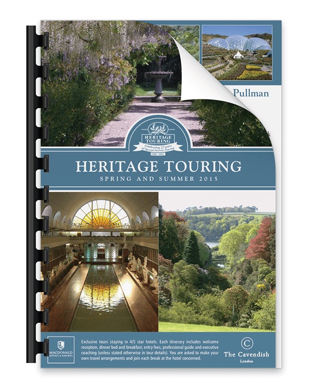 Heritage Touring Brochure 2015