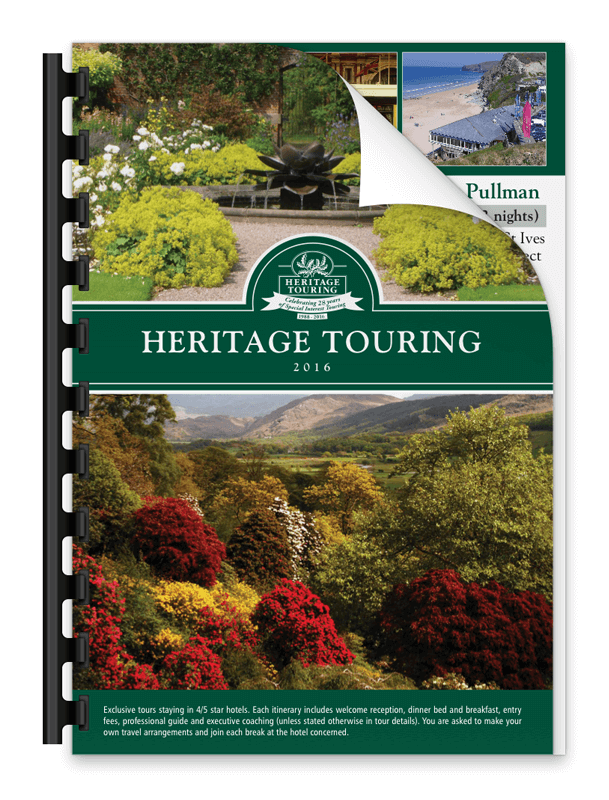 Heritage Touring Brochure 2016