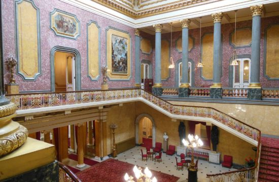 Lancaster House Entrance Hall