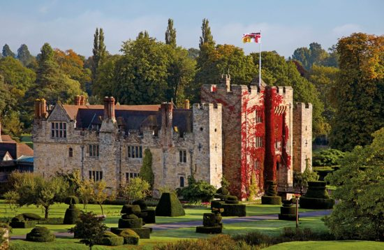 Hever Castle in Autumn