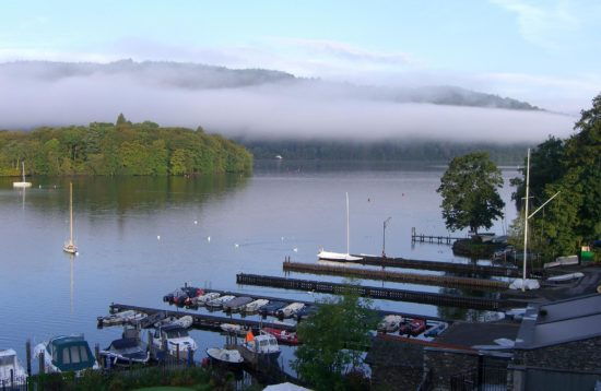 Windermere from Old England Hotel